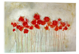 Acrylic glass  Flowers - Tina Melz