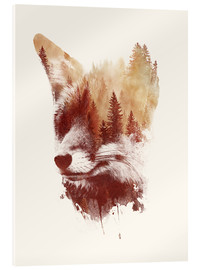 Acrylic glass  Blind fox - Robert Farkas