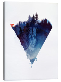 Canvas print  Near to the edge - Robert Farkas