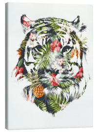 Canvas print  Tropical Tiger - Robert Farkas