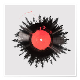 Premium poster  The vinyl of my life - Robert Farkas