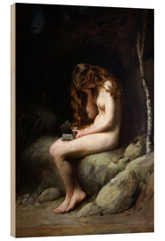 Wood print  Pandora - Thomas Benjamin Kennington