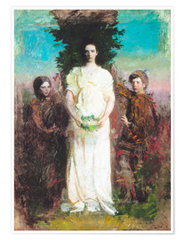 Premium poster My Children (Mary, Gerald, and Gladys Thayer)