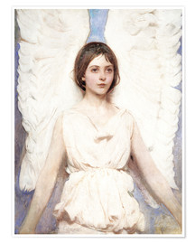 Premium poster  Angel - Abbott Thayer