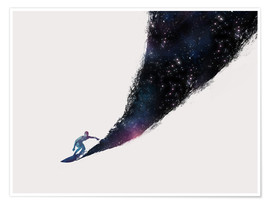 Poster  Surfing the universe - Robert Farkas