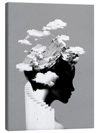 Canvas  Its a cloudy day - Robert Farkas