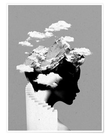 Premium poster  Its a cloudy day - Robert Farkas