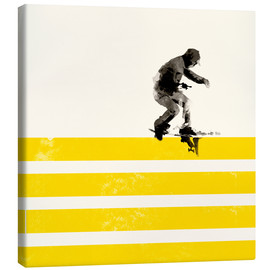 Canvas print  Urban skateboard - Robert Farkas
