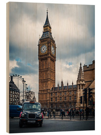 Wood print  London - Big Ben - Alexander Voss