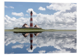Foam board print  Lighthouse at the Northsea - Filtergrafia