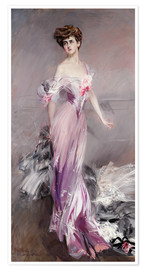 Poster  MRS JOHNSTON HOWARD - Giovanni Boldini