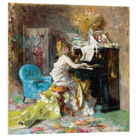 Giovanni Boldini - Woman at a piano