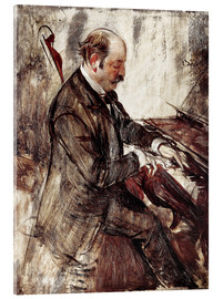Acrylic print  The Pianist - Giovanni Boldini