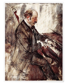 Premium poster  The Pianist - Giovanni Boldini
