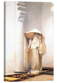 Canvas print  The smoke of amber - John Singer Sargent