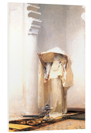 Foam board print  The smoke of amber - John Singer Sargent