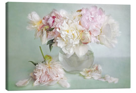 Canvas  still life with peonies - Lizzy Pe