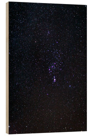Wood print  The Orion Constellation - Laurent Laveder