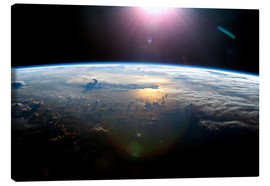 Canvas print  Pacific Ocean from space - NASA