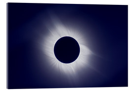 Acrylic print  Total solar eclipse at totality - Laurent Laveder