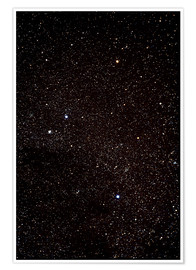 Premium poster  Crux constellation - John Sanford
