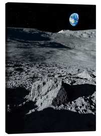 Canvas print  Earth from the moon - Detlev van Ravenswaay