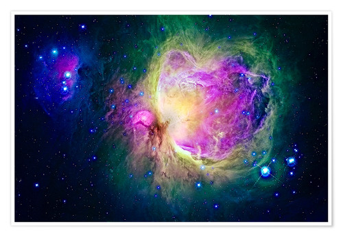 Premium poster Great Orion Nebula