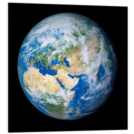 Foam board print  Earth from space - Detlev van Ravenswaay