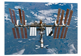 Foam board print  International space station - NASA