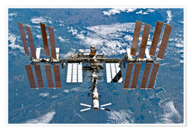 Premium poster  International space station - Nasa