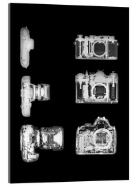Acrylic glass  X-ray of a digital camera - PhotoStock-Israel