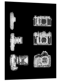 Foam board print  X-ray of a digital camera - PhotoStock-Israel
