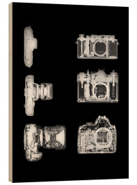 Wood  X-ray of a digital camera - PhotoStock-Israel