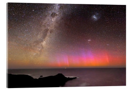 Acrylic print  Aurora australis and Milky Way - Alex Cherney