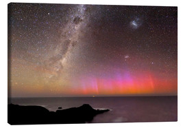 Canvas print  Aurora australis and Milky Way - Alex Cherney