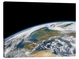 Canvas print  Western Europe, satellite image - Nasa