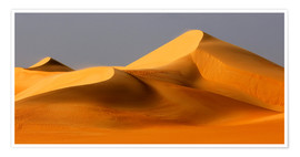 Premium poster Great Sand Sea, Sahara