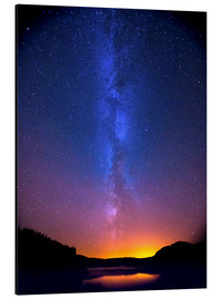 Aluminium print  Magic of the Milky Way - Thomas Heaton