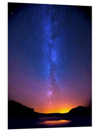 Foam board print  Magic of the Milky Way - Thomas Heaton
