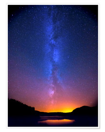 Premium poster  Magic of the Milky Way - Thomas Heaton
