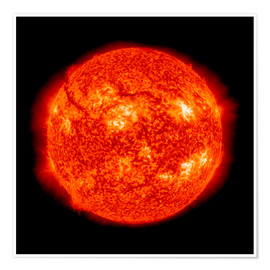 Premium poster  Solar activity, SDO ultraviolet image - Nasa