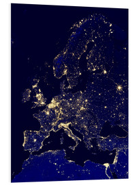 Forex  Europe at night - Nasa