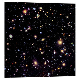 Acrylic print  Hubble Extreme Deep Field - NASA