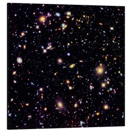 Aluminium print  Hubble Extreme Deep Field - NASA