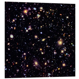 Foam board print  Hubble Extreme Deep Field - NASA