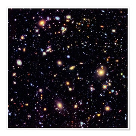 Premium poster  Hubble Extreme Deep Field - NASA