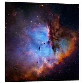 Foam board print  Starbirth region (NGC 281) - Robert Gendler
