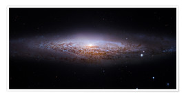 Premium poster Spiral galaxy NGC 2683, Hubble image