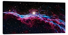 Canvas print  Veil Nebula (IC 1340), optical image - Robert Gendler