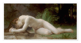 Premium poster  Biblis - William Adolphe Bouguereau